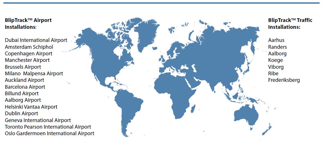 Blip Track Enhanced Airports List